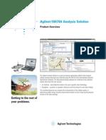 Agilent E6474A Analysis Solution