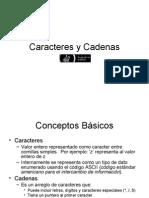 Caracteres y Cadenas en C