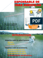 USO RESPONSABLE DE PLAGUICIDAS AGRÍCOLAS - 071211