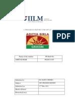 1 Progress Report Amit Kumar Pg20111107 Sec-d