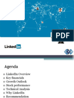 Forecast and analysis for linkedin