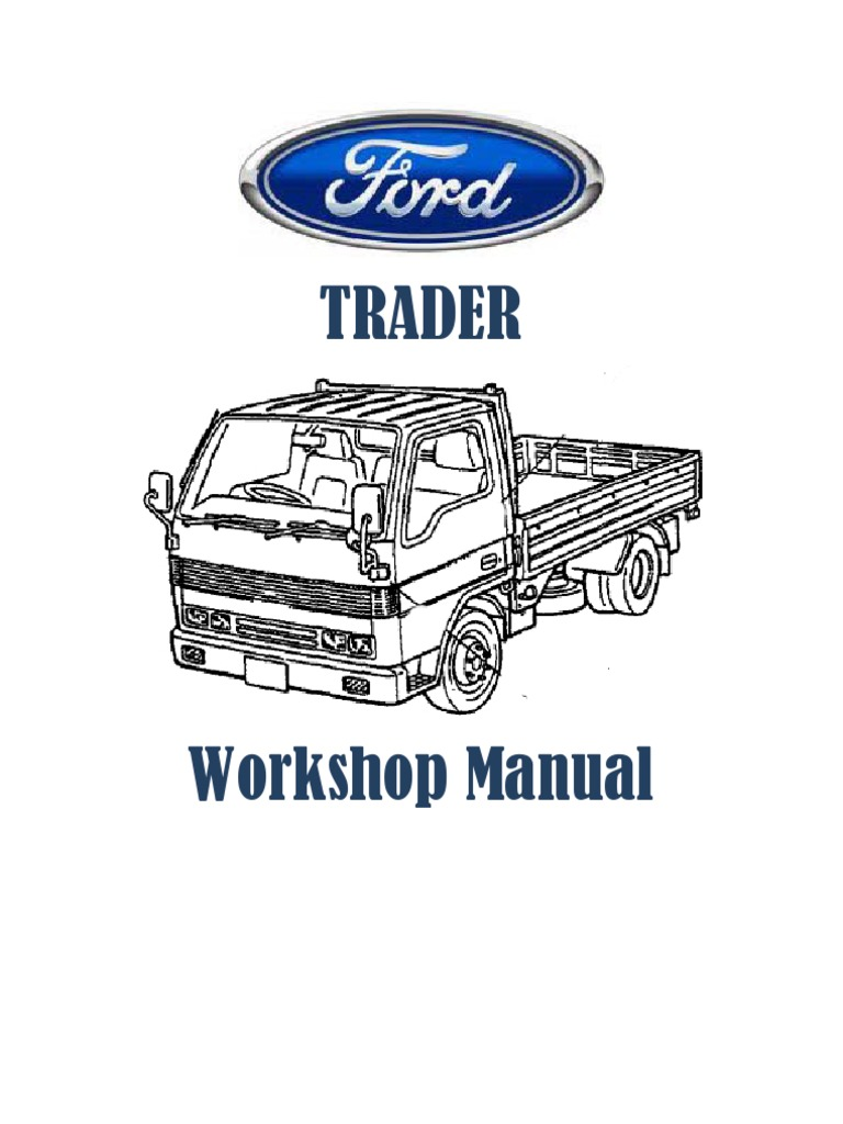 Mazda T3500 Wiring Diagram Delorean Diagrams Ford Trader Workshop Manual Electrical Connector Transmission Mid Bus