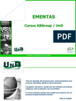 Ementa Cursos is UnD