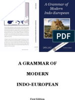 A Grammar of Modern Indo-European