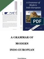 A Grammar of Modern Indo-European