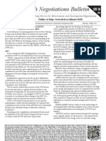 Earth Negotiations Bulletin – summary of May 18th 2012
