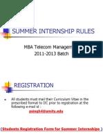 Summer Internship Ppt