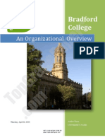 Bradford College - Organisational Overview - Academic Assignment - Top Grade Papers