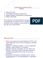 Ch. 10 Principal Components Analysis (PCA)