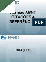 CITACOES E REFERENCIAS 1 - 2012