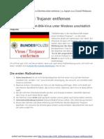 Bundespolizei Trojaner in 10 Schritten Sicher Entfernen