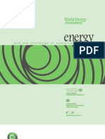 World Energy Assessment-2000