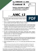 2002AMC12-A