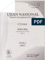 Pembahasan Soal Prediksi Un Fisika Sma 2012 Paket 12