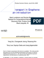 Low Bias Transport in Graphene an Introduction