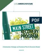 Main Street Recovery Program
