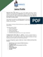 Company Profile RAWACO