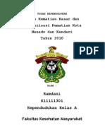Angka Kematian Kota Makassar Tahun 2010