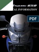 Suzuki v Strom 650 Informatii Tehnice Www.manualedereparatie.info