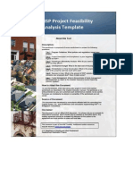 Copy of Project Feasibility Analysis Template