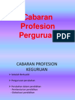 Cabaran Profesional Guru