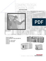 Rockwell Allen Bradley PLC - CompactLogix Controllers - Selection Guide