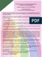 17 DE MAYO -‐ Día Internacional contra la Homofobia, la Lesbofobia y la Transfobia (IDAHO)