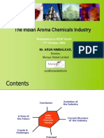 Aroma Chemical Industry in India  Cochin IFEAT