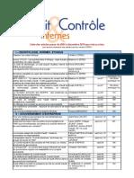 Liste Articles 2004 2010