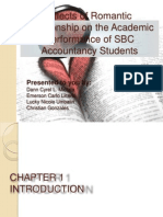 effects of romantic relationships on academic performance in college pdf