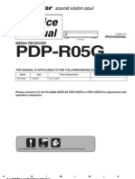 6031574-Repair Manual Pioneer Pdp R05g Media Receiver