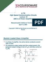 Power Amp MIT