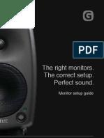 Genelec Monitor Setup Guide 2011