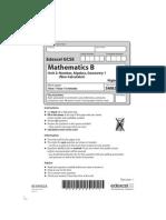 07 5MB2H Unit 2 - Mock Paper