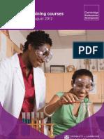 2012 Training Brochure