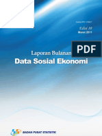 Data BPS Maret 2011 Kemiskinan Kota Pekanbaru