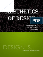 Aesthetics of Design
