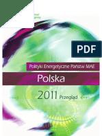 Polityki Energetyczne Panstw MAE Przeglad Polska 2011