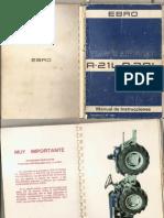 Manual de Usuario Ebro a 21L a 30L