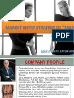 Marketing Entry Strategy of Zara