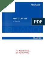 News U Can Use 04.05.2012