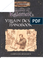 Kingdoms of Kalamar - Villain Design Handbook