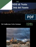 Assisi di Notte - La Cittá del Santo - Imagenes - Asis de Noche