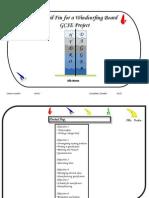 Windsurf Hydrofoil Design Project - GCSE