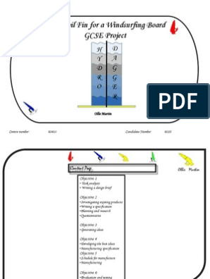 Windsurf Hydrofoil Design Project - GCSE | Airfoil | Wing