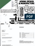 Workshop Practice Series 19 - Spring Design & Manufacture