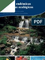 Especies endémicas y sistemas ecologicos en la vertiente oriental de los andes y cuencas del amasonas de bolivia y peru