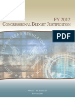 FY 2012 Congressional Budget Justification - Fy2012-Cbj