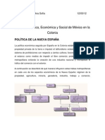 ASPECTOS ECONÓMICOS DE LA COLONIA