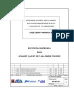Especificacion Tecnica de Apilador Movil